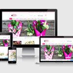 Flower Shop Website design & development