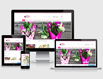 Flower Shop Website design & development